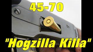 """Cimarron Model 71 45-70 """"Hogzilla Killa"""" Rifle --  Review + Elk Hunt"""