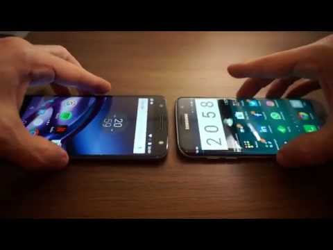 Galaxy S7 edge x Moto Z: Qual é o melhor?