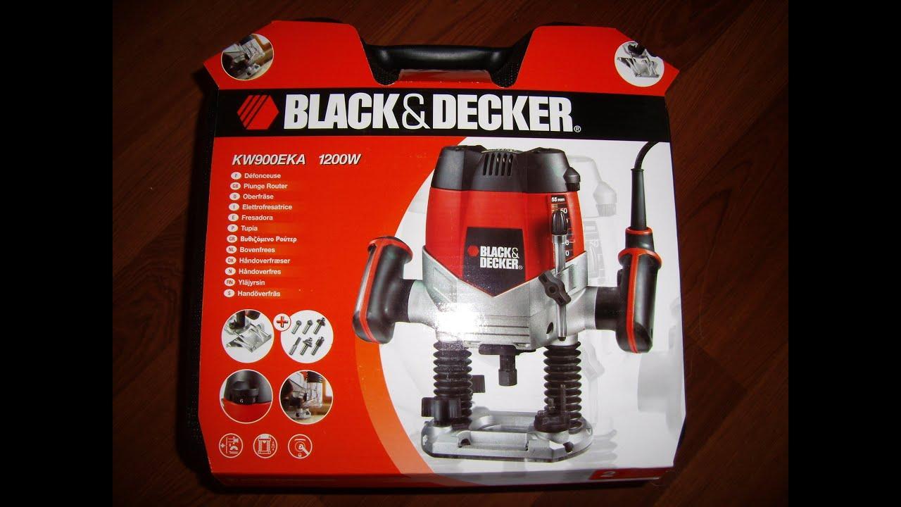 Black+Decker KW1200E-GB Router