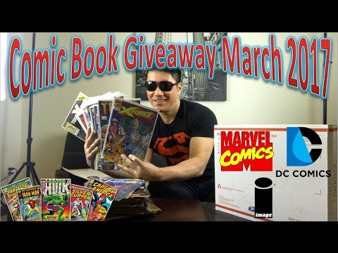 Comic Book Giveaway March 2017 | Closed
