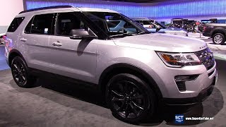 2018 Ford Explorer XLT - Exterior and Interior Walkaround - 2017 LA Auto Show