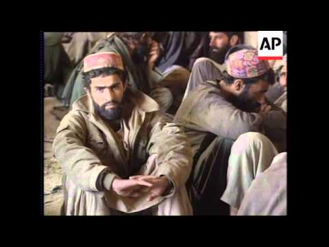 Report on captured Taliban and foreign fighters