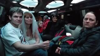 Свадебное путешествие моржей Фадеевых в Санкт Петербург. Лимузин 18.03.2017(2)