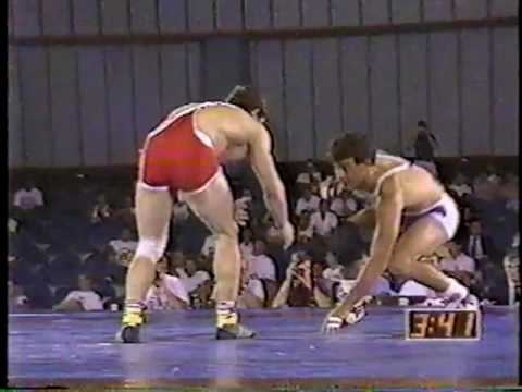 1991 US Open Wrestling Championships 136.5 lbs - John Smith (USA) vs Metin Kaplan (TUR)