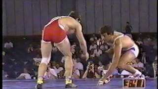 Download 1991 US Open Wrestling Championships 136.5 lbs - John Smith (USA) vs Metin Kaplan (TUR)