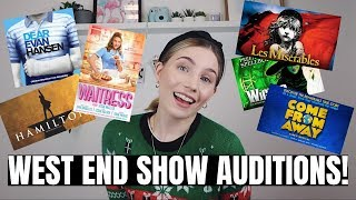 STEP BY STEP PROCESS OF AUDITIONING FOR A WEST END SHOW! | Georgie Ashford
