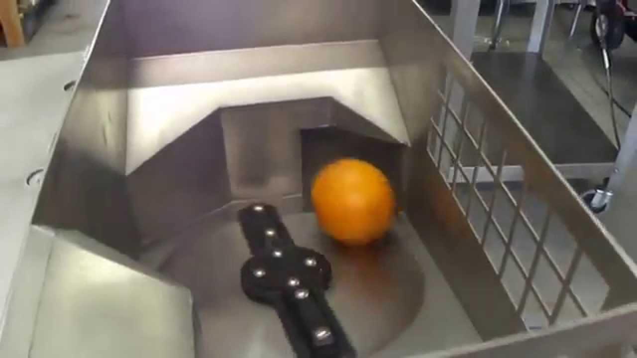 fmc orange juicer machine