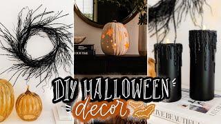 DIY HALLOWEEN DECOR You ACTUALLY Want to Create! 🎃 Dollar Tree Home Decor Ideas!