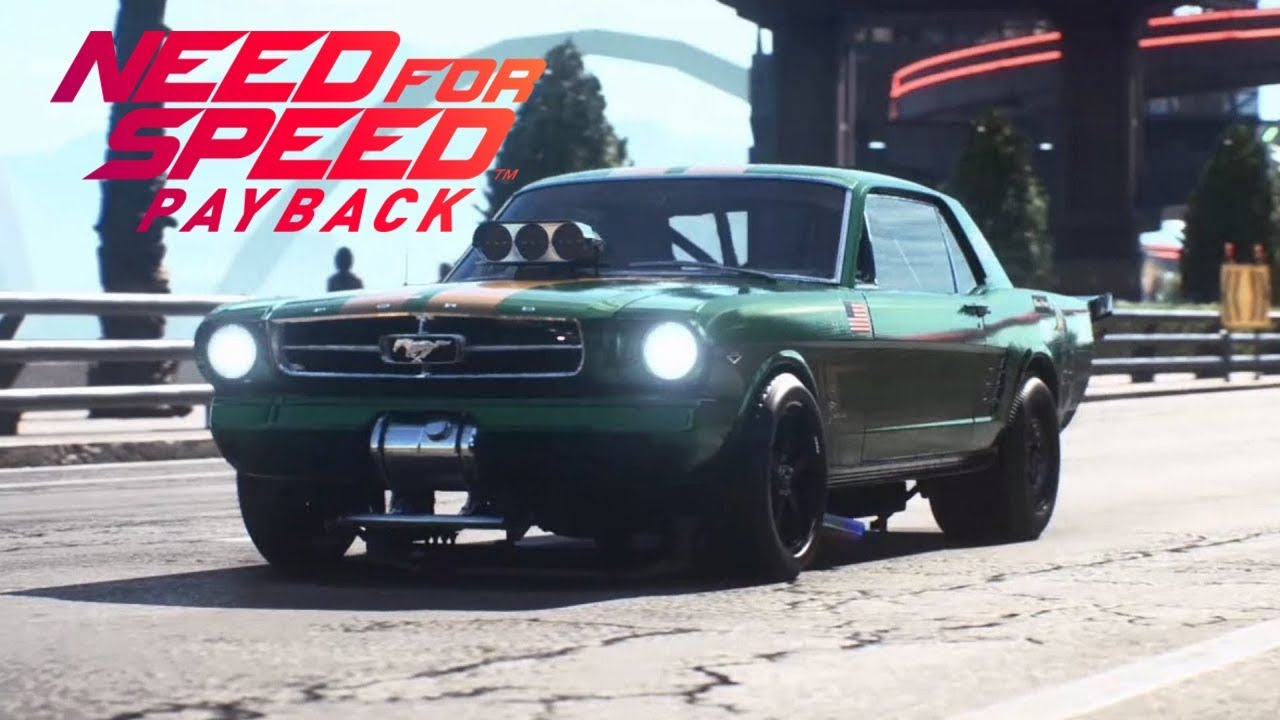 Need for speed payback 5 anbadonados ford mustang 1965 drift final