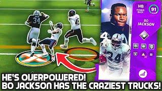 BO JACKSON HAS THE CRAZIEST TRUCKS! Madden 21 Ultimate Team