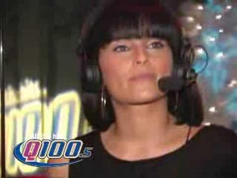 Q100 Atlanta - The Bert Show - Nelly Furtado Int 12-17-06