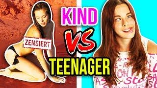 KIND vs. TEENAGER 😂 PEINLICHE MODEL FOTO SHOOTINGS! 🙈 | JUGENDSÜNDEN!