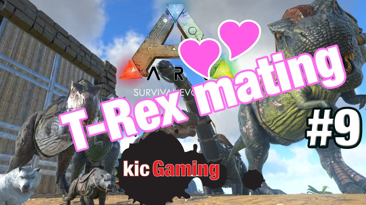 Mating t rexes & dinos - Let's Play ARK: Survival Evolved single player (S2  Ep 9)