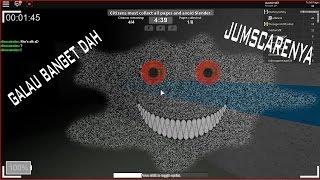 Banyak Nya Jumpscare! Roblox pará-lo Delgado | Indonésia #1