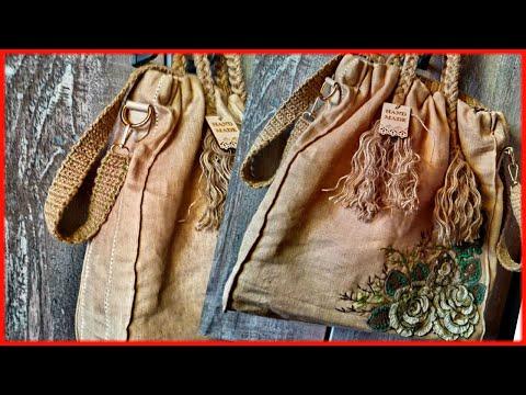 #Вязание #ремень из #трикотажной #пряжи #Новаясумка