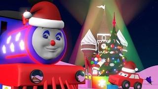 Новогодние мультфильмы для детей Паровозик Чух Чух встречает Новый Год в сказочной стране