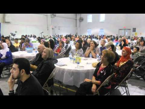 Muslim Masjid Open House in Charlotte NC Imam John Ederer Should We Fear Islam 5/6