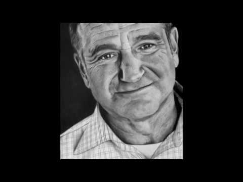 SPEED DRAWING - ROBIN WILLIAMS