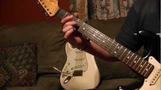 Robin Trower Little Bit of Sympathy Lesson Tutorial