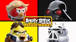 ANGRY BIRDS STAR WARS   Matching & Learning Colors #AngryBirdsMovie #Starwars