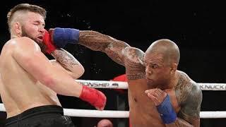 Четыре сумасшедших нокаута в кулачных боях. Скучно подрался только ветеран UFC