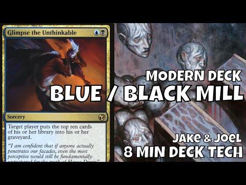 8 Minute Deck Tech: Modern Blue Black Mill