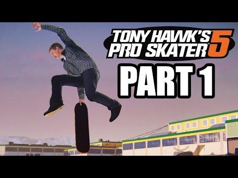 Tony Hawk's Pro Skater 5 Walkthrough Gameplay Part 1 - LEARNING THE BASICS