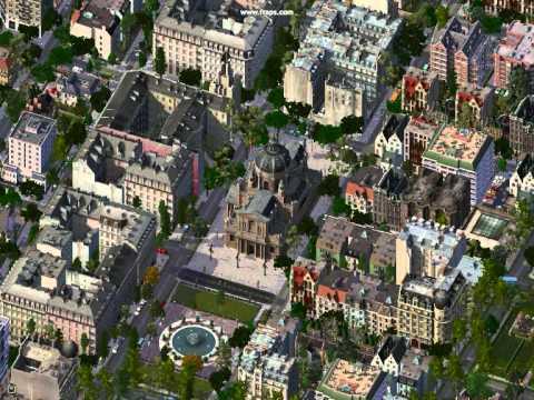 Simcity  German Buildings