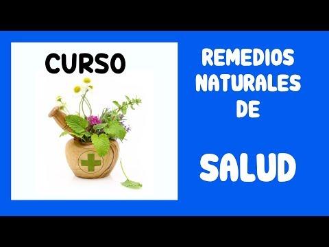 Curso: REMEDIOS NATURALES de SALUD