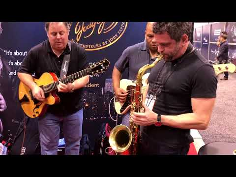 Jam Session @ Jody Jazz booth NAMM 2018 (Smooth Jazz Family)