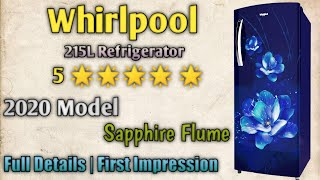 Whirlpool 215L 5 Direct Cool Refrigerator Details amp First Impression Mehrotra Electronics