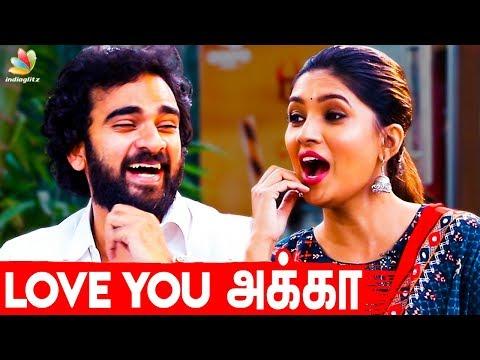 அம்பி Style-ல Love சொன்னாங்க | Actress Vani Bhojan & Ashok Selvan Interview | Oh My Kadavule Movie