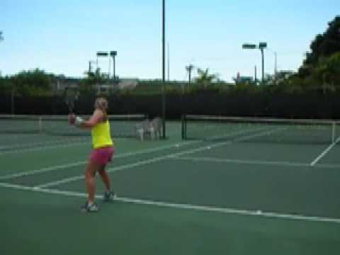 Katie Mark Tennis Recruiting Video #1