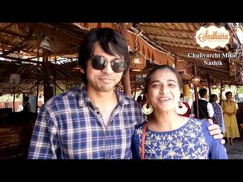 Lalit Prabhakar & Sharmishta Raut at Sadhana Chulivarchi Misal