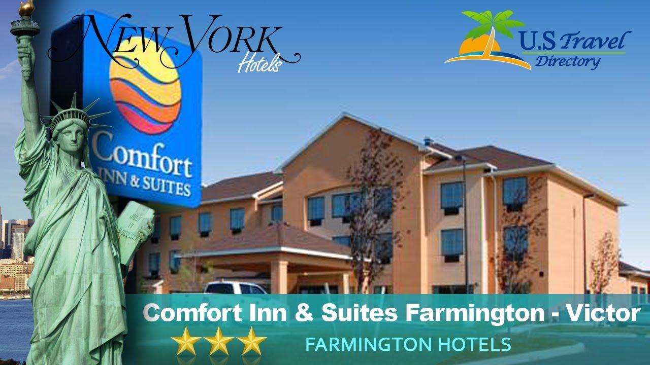 Comfort Inn Suites Farmington Victor Hotels New York