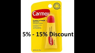 Discount - Carmex, Classic Lip Balm, Medicated, .35 oz (10 g) Review