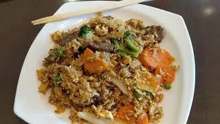 Тайский жареный рис офигенная жрачка