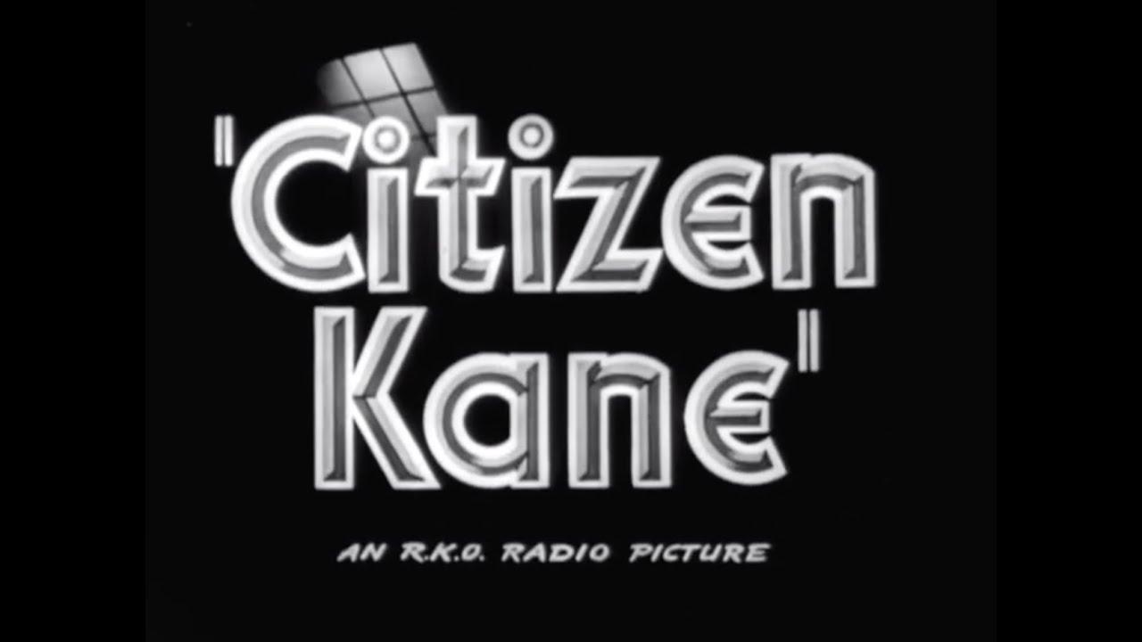 CITIZEN KANE ('41) - Original Trailer