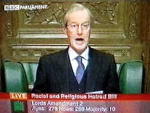 Sir Alan Haselhurst - the Commons defeats the government