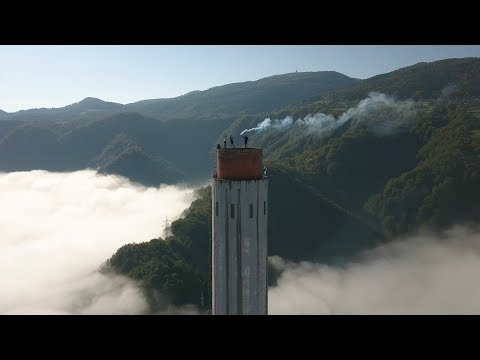 BNT 152 Pompki na kominie (climbing to the highest chimney in Europe)