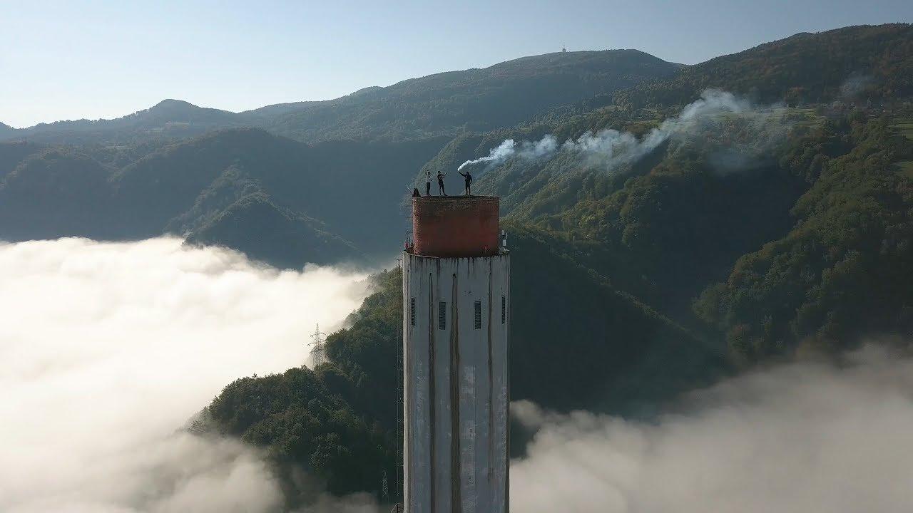 BNT 152 Pompki na kominie (climbing to the highest chimney ...