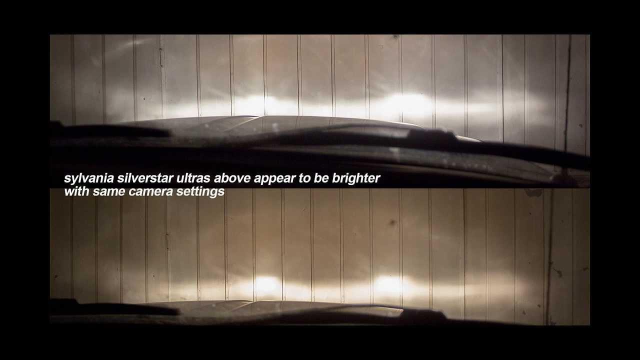 Sylvania Silverstar Ultra Vs Oem Headlight Comparison