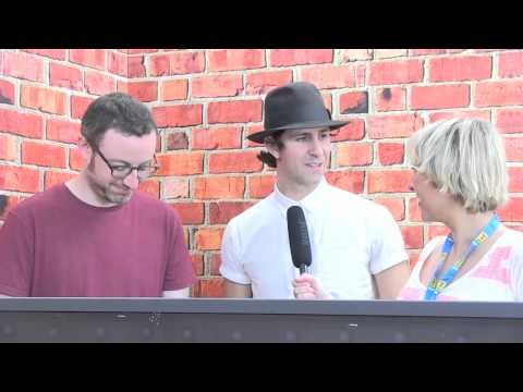 T in the Park 2014: Maximo Park talk tour troubles with Bev
