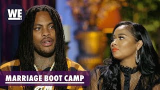 Waka & Tammy's One Burning Question | Marriage Boot Camp: Hip Hop Edition