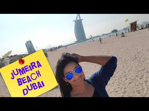 Dubai Jumeirah Beach-Fun with Mamta Sachdeva | Cabin Crew |  Best Things to do in Dubai |