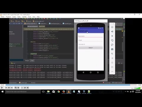 Android Login and Registration with php and mysql