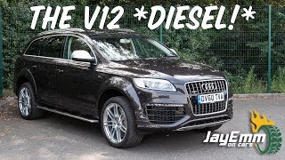 Audi's Craziest SUV - The £155,000 Q7 V12 DIESEL Exclusive Concept!