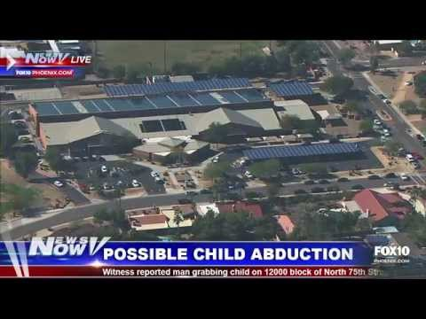 Breaking News - Possible Child Abduction in Scottsdale