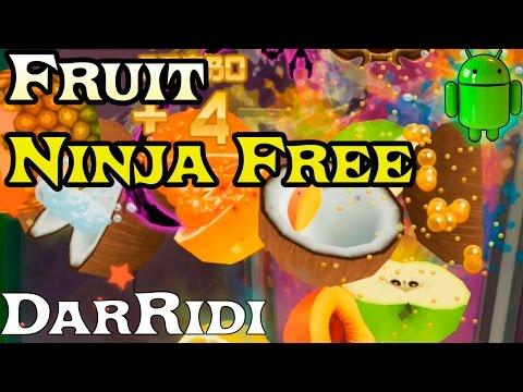 игра Fruit Ninja Free первый взгляд