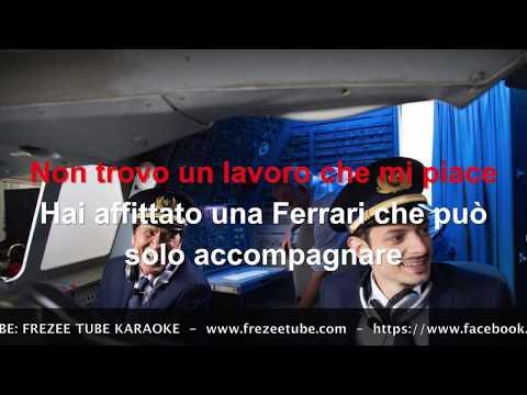 Fabio Rovazzi Feat. Gianni Morandi - Volare - Karaoke con testo
